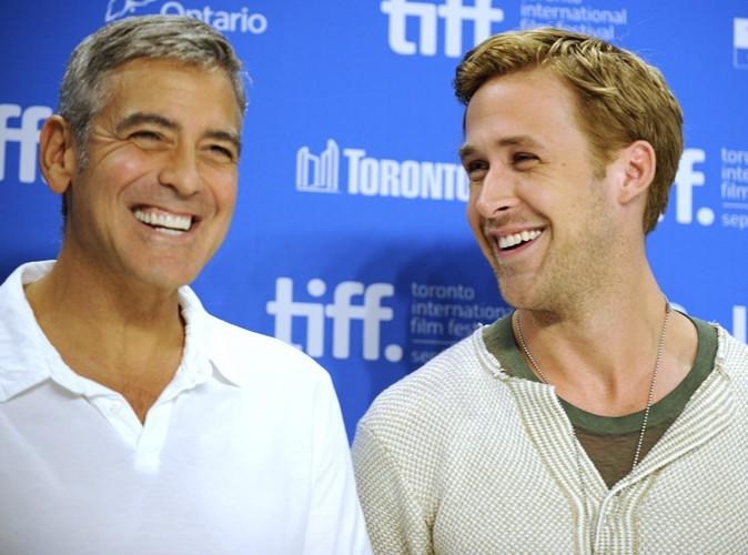 Ryan Gosling et George Clooney