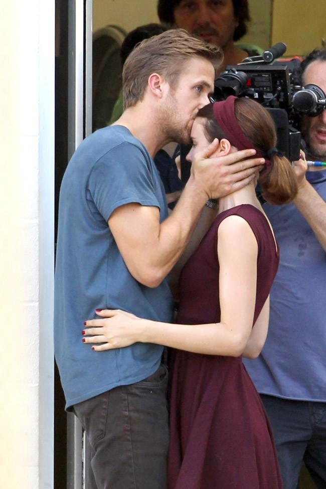 Ryan Gosling et Rooney Mara le 24 septembre 2012 à Austin