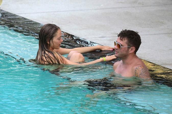 Ryan Phillippe à Miami avec sa girlfriend Paulina Slagter le 9 juin 2014