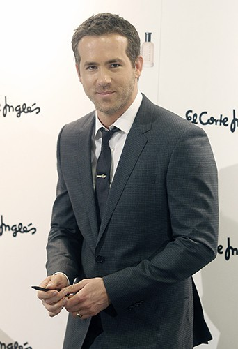 Ryan Reynolds à Madrid le 26 novembre 2013