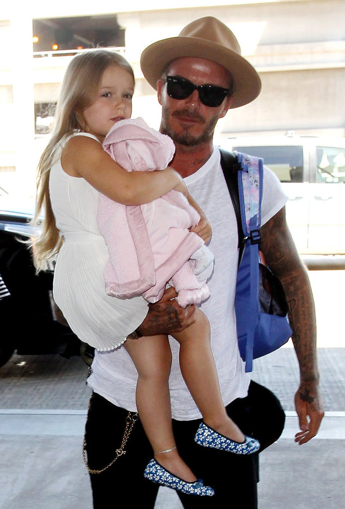 Le chapeau comme David Beckham