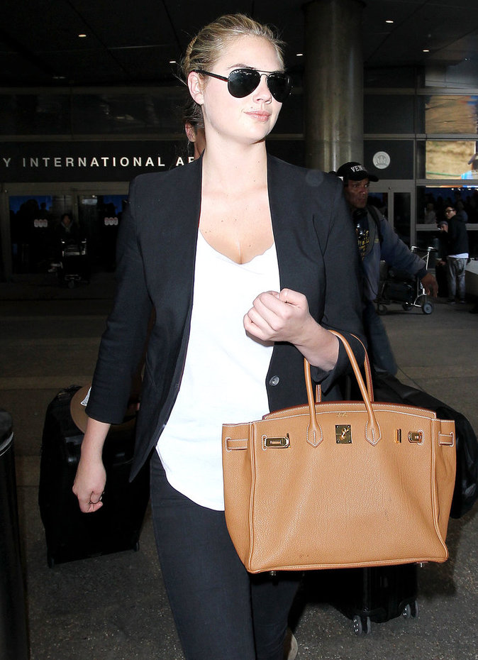 Le sac de luxe comme Kate Upton