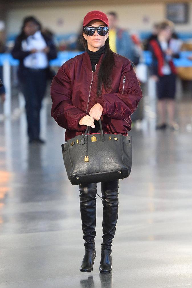 Le sac de luxe comme Kourtney Kardashian