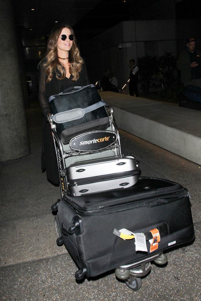 Les grosses valises comme Kate Beckinsale