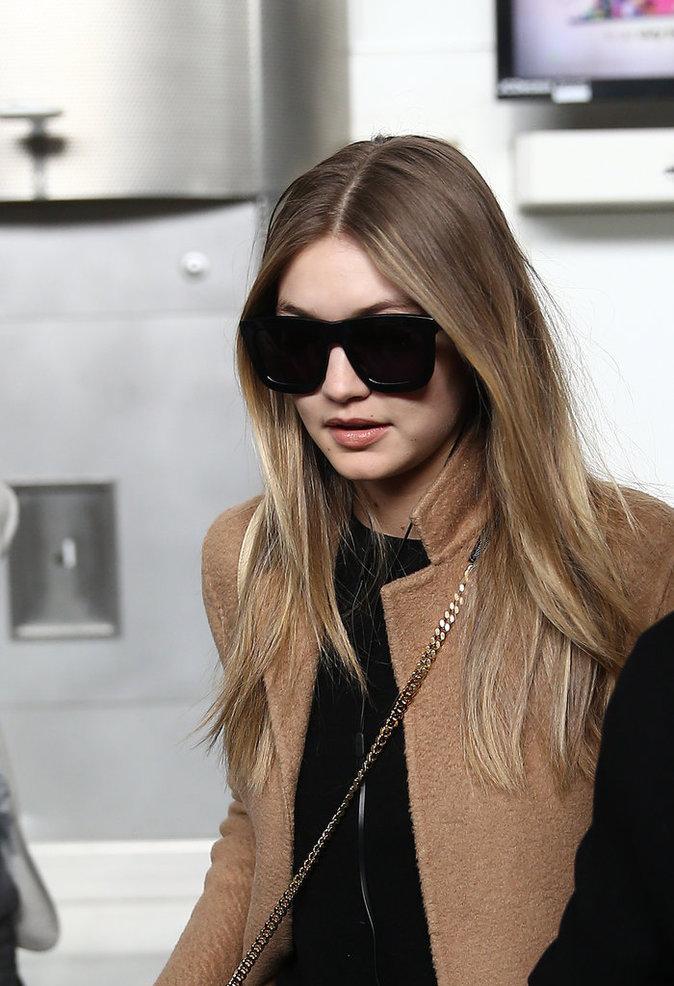 Les lunettes de soleil comme Gigi Hadid