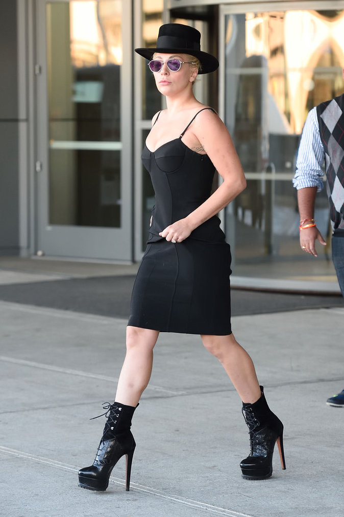 Les talons hauts comme Lady Gaga