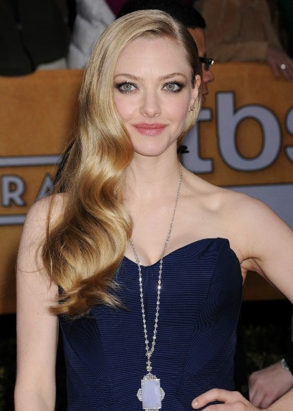 Amanda Seyfried lors des SAG Awards à Los Angeles, le 27 janvier 2013.