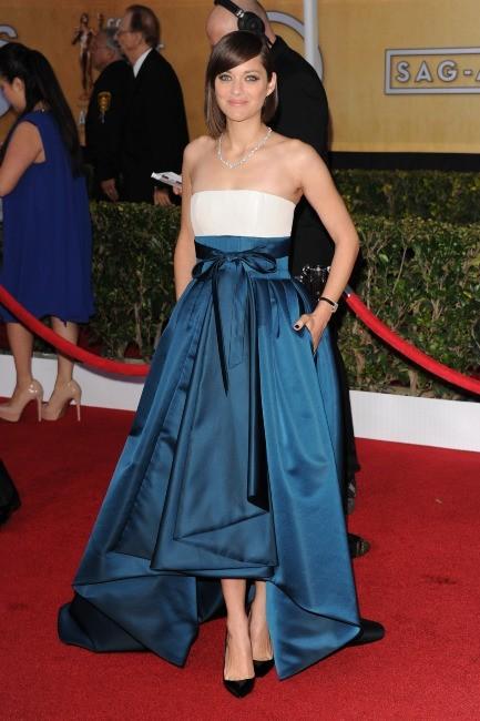 Marion Cotillard lors des SAG Awards à Los Angeles, le 27 janvier 2013.
