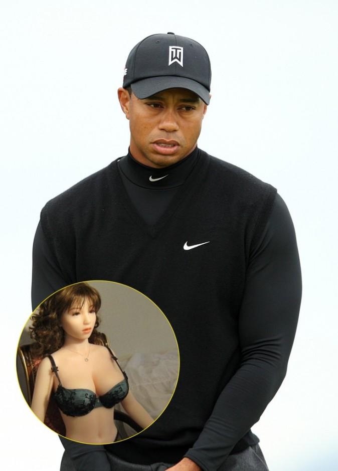 Tiger Woods : une poupée gonflable