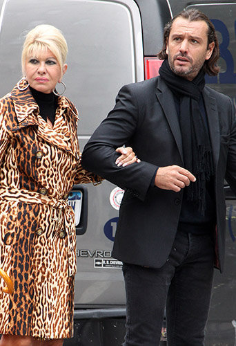 Ivana Trump et son ex-boyfriend