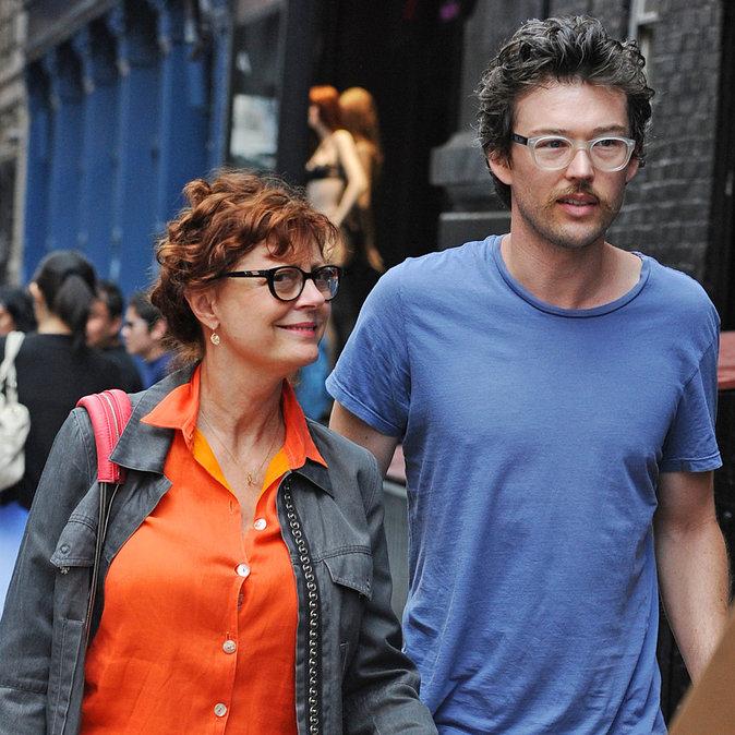 Susan Sarandon et son boyfriend