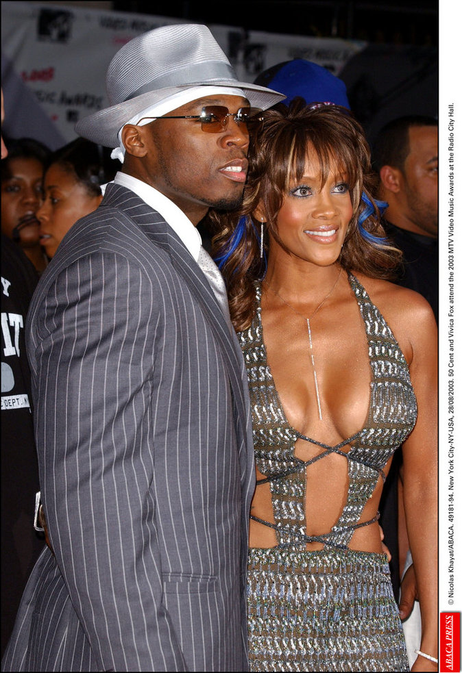 Vivica Fox et 50 Cent