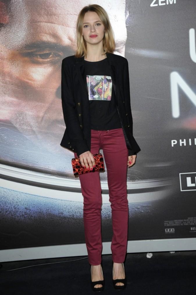 Sara Forestier lors de l'avant-première du film Une Nuit, le 2 janvier à Paris.