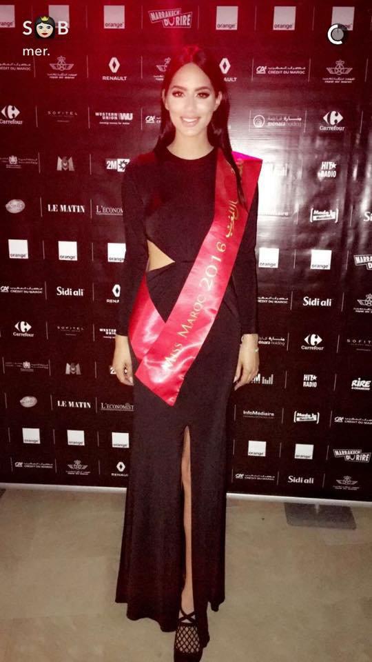 Photos : Sarah Belkziz : Miss Maroc 2016 fait le buzz sur Twitter !