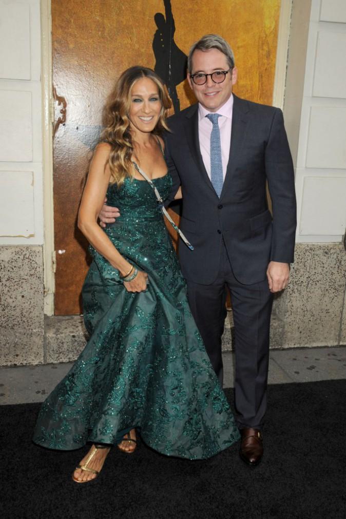 Sarah Jessica Parker : Aux bras de son mari, l'actrice est rayonnante !