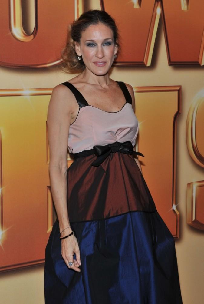 Sarah Jessica Parker lors de la première du film Tower Heist à New York, le 24 octobre 2011.