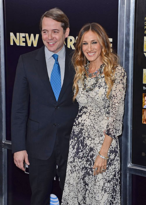 A New York avec son mari en 2011
