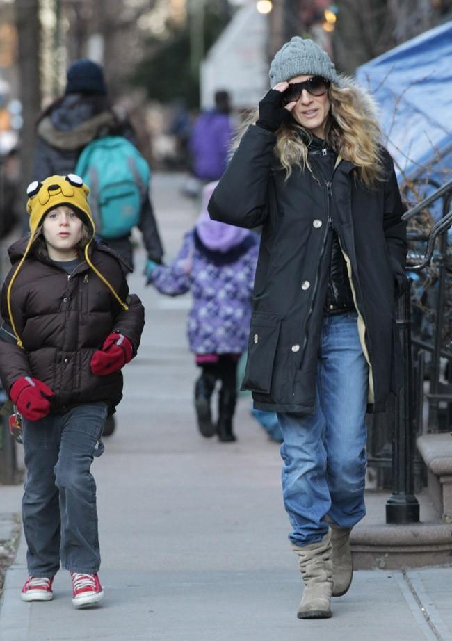 A New York, les températures sont en dessous de zéro !