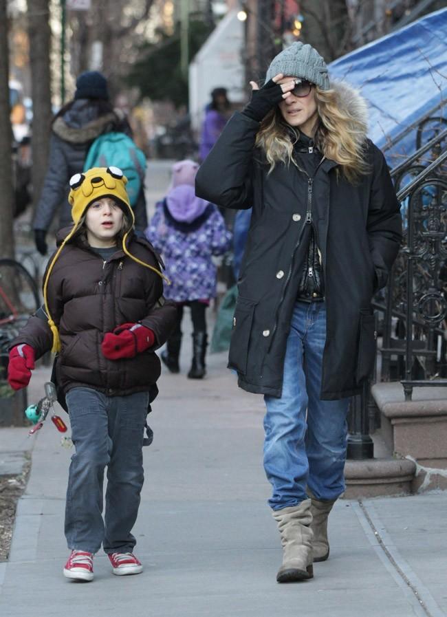 Plus question de jouer les fashionistas quand il fait si froid !