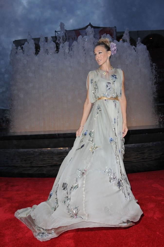 Sarah Jessica Parker lors de la soirée NYC Ballet Fall Gala à New York, le 20 septembre 2012.