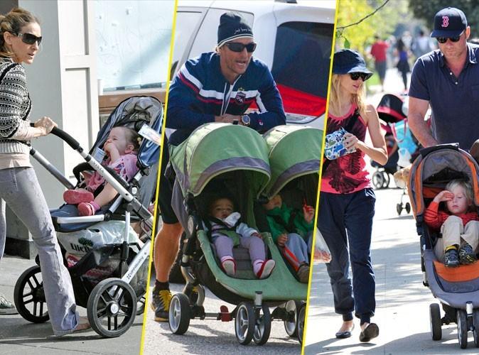 Photos : Sarah Jessica Parker, Matthew McConaughey, Naomi Watts... un petit tour de pousse-pousse ?