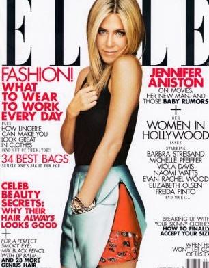 Jennifer Aniston, les lectrices l'adorent !