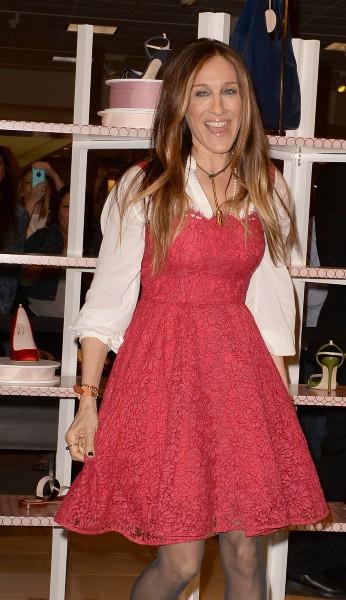 Sarah Jessica Parker en promo à Aventura en Floride, le 9 mars 2014.