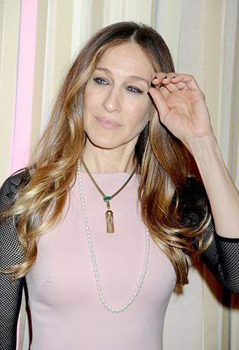 Sarah Jessica Parker à New-York le 26 février 2014