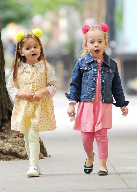 Tabitha et Marion Broderick, New York, 27 mai 2013