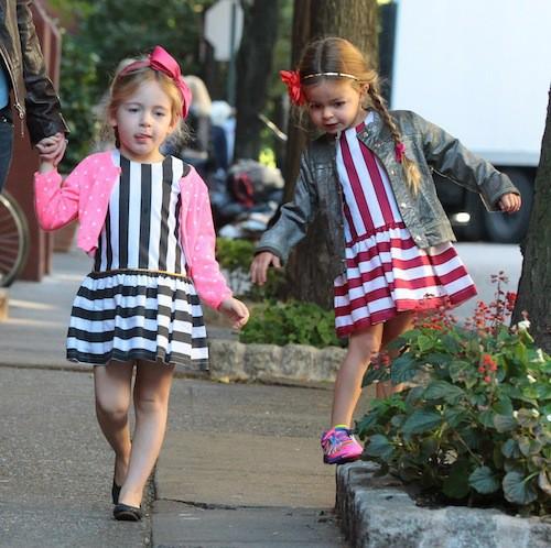 Photos : Sarah Jessica Parker : ses jumelles, des petits démons stylés dans New York !