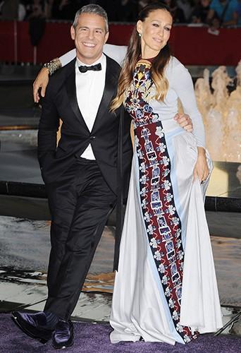 Andy Cohen et Sarah Jessica Parker à New York le 23 septembre 2014