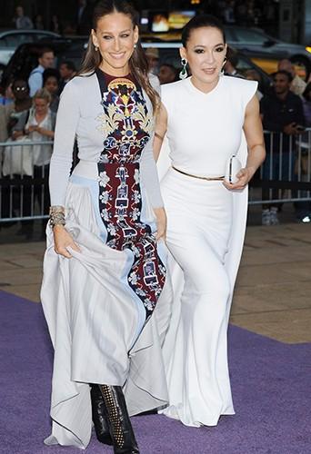 Sarah Jessica Parker et Cindy Chao à New York le 23 septembre 2014