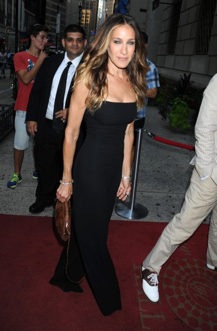 Sarah Jessica Parker lors du Friends In Deed Gala à New York, le 17 juillet 2013.