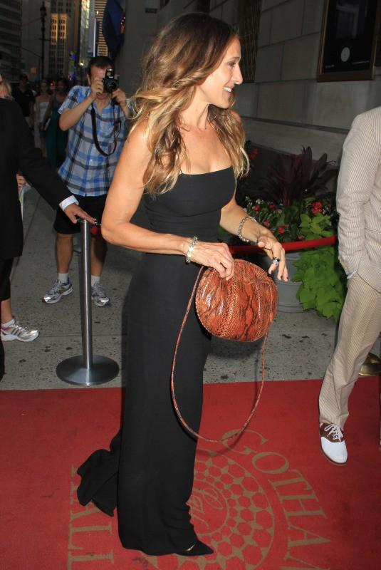 Sarah Jessica Parker lors du Friends In Deed Gala à New York, le 17 juillet 2013.