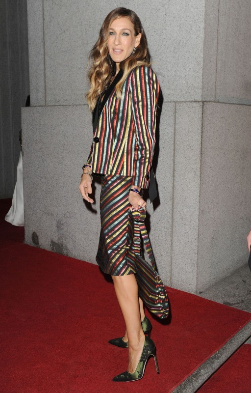 Sarah Jessica Parker le 25 octobre 2012 à New York