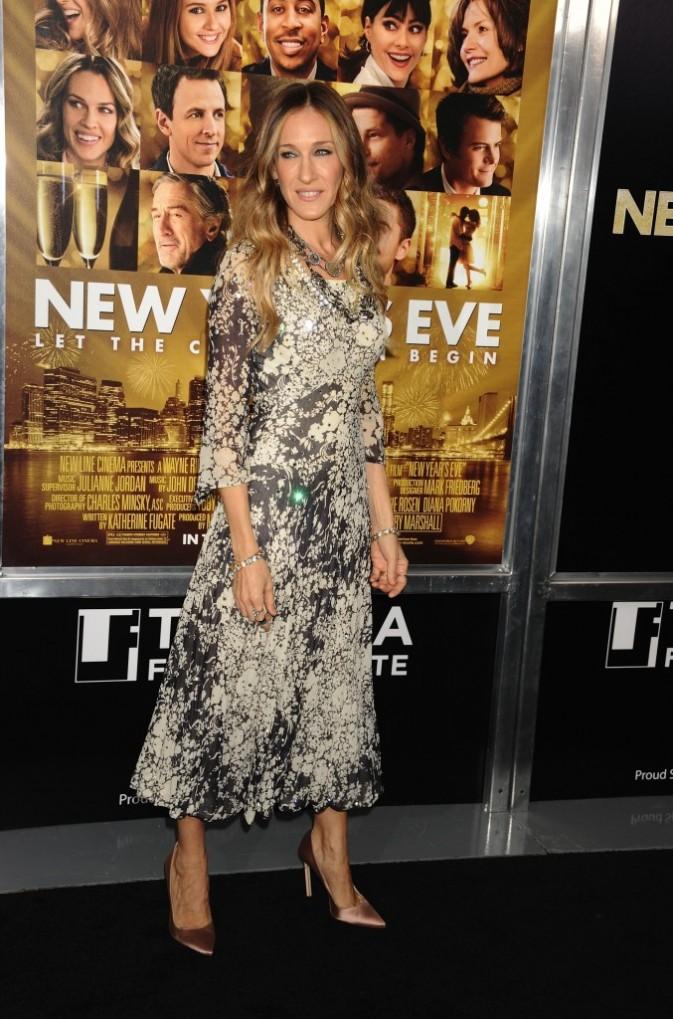 Sarah Jessica Parker lors de la première du film Happy New Year à New York, le 7 décembre 2011.
