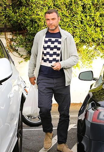 Liev Schreiber à Los Angeles le 28 janvier 2014