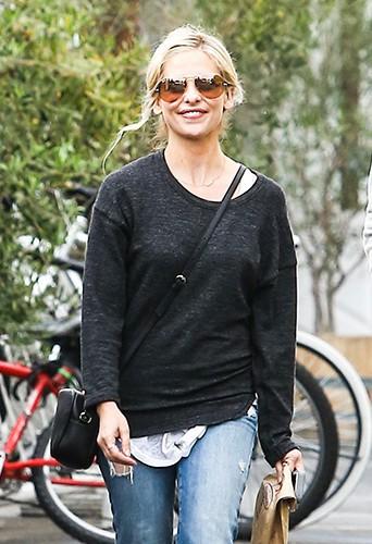 Sarah Michelle Gellar à Los Angeles le 28 janvier 2014
