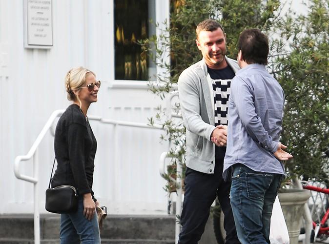 Sarah Michelle Gellar et Liev Schreiber à Los Angeles le 28 janvier 2014