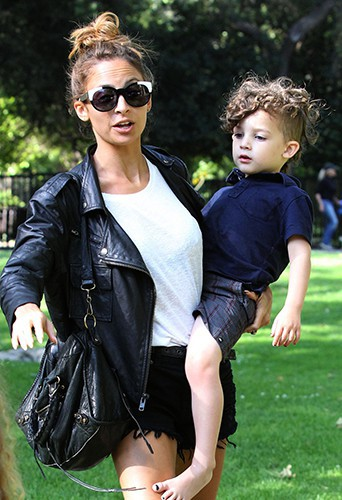 Nicole Richie et son fils Sparrow James Midnight