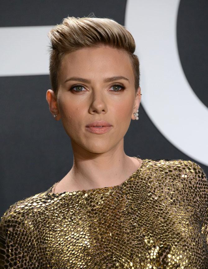 Scarlett Johansson à Los Angeles le 20 février 2015