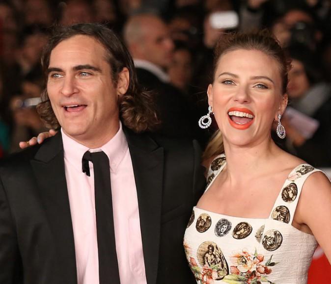 Scarlett Johansson au Festival International du Film de Rome le 10 novembre 2013