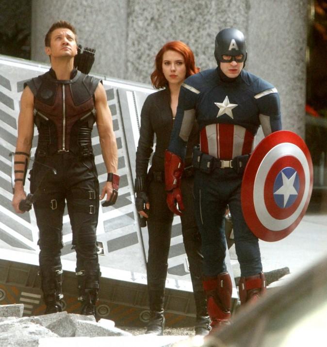 Une partie de la fière équipe ! Il manque juste Hulk et Thor...