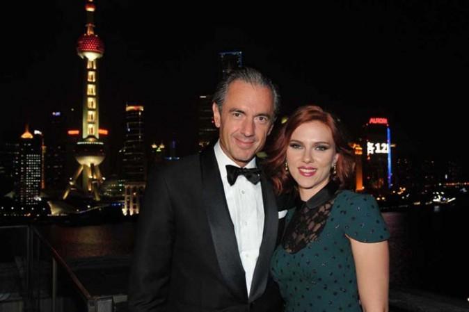Scarlett Johansson et Daniel Lalonde à Shanghaï pour les 270 ans de la marque de champagne Moët & Chandon !