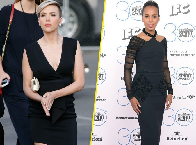 Scarlett Johansson et Kerry Washington : le match de la petite robe noire !