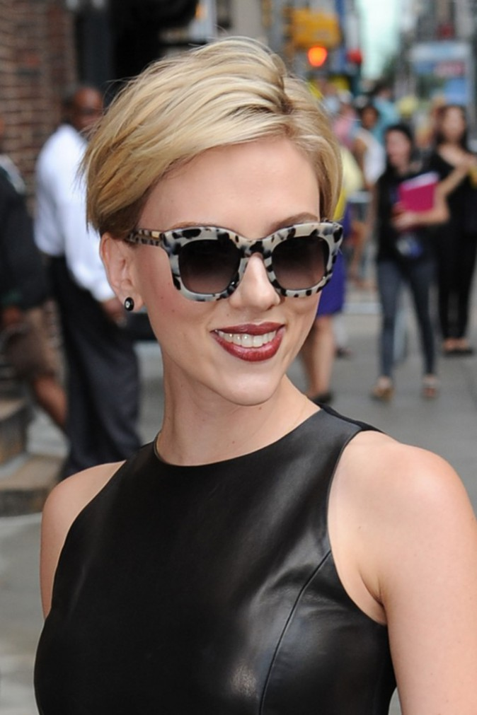 Scarlett Johansson le 9 septembre 2015