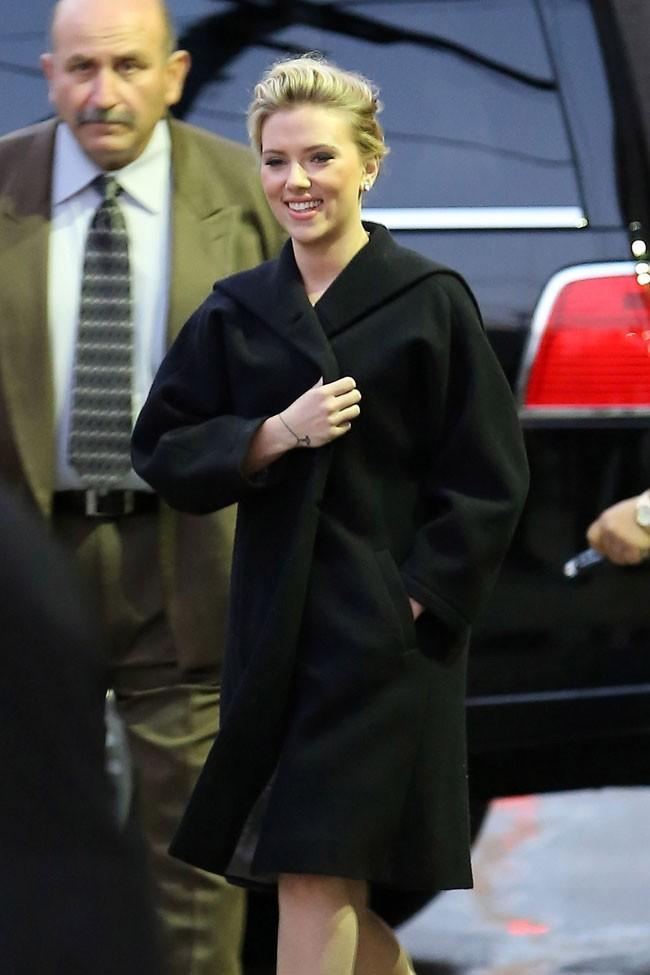 Scarlett Johansson le 3 mai 2012 à Hollywood