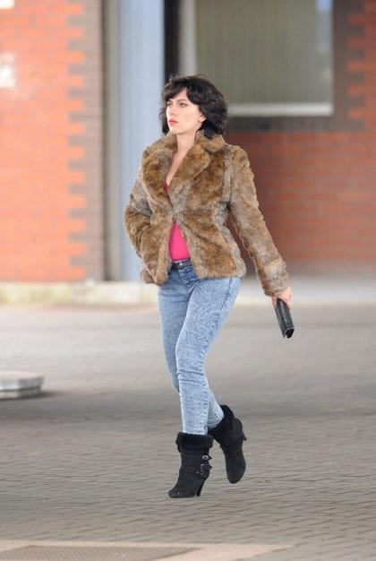 Scarlett Johansson en mode brunette !