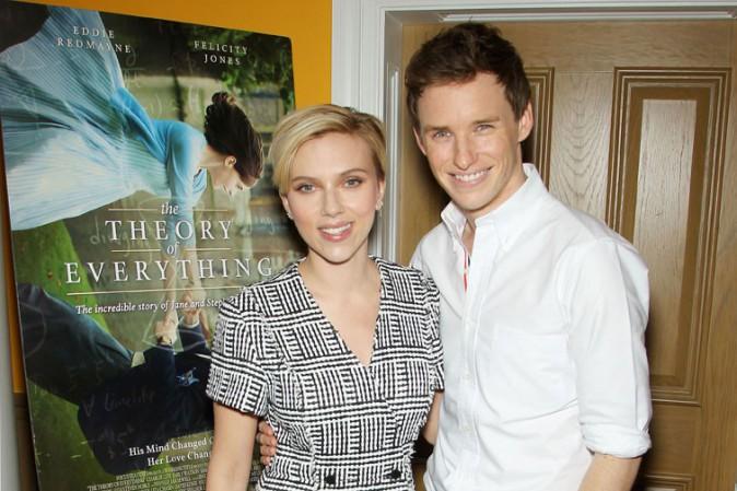 Scarlett Johansson à New-York le 3 novembre 2014