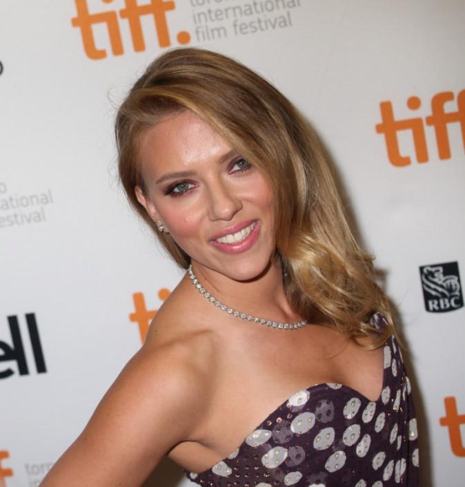 Scarlett Johansson lors du Festival International du Film de Toronto, le 9 septembre 2013.